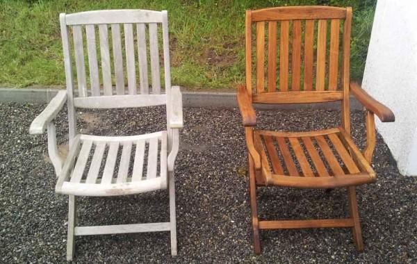 Restoring Garden Furniture
