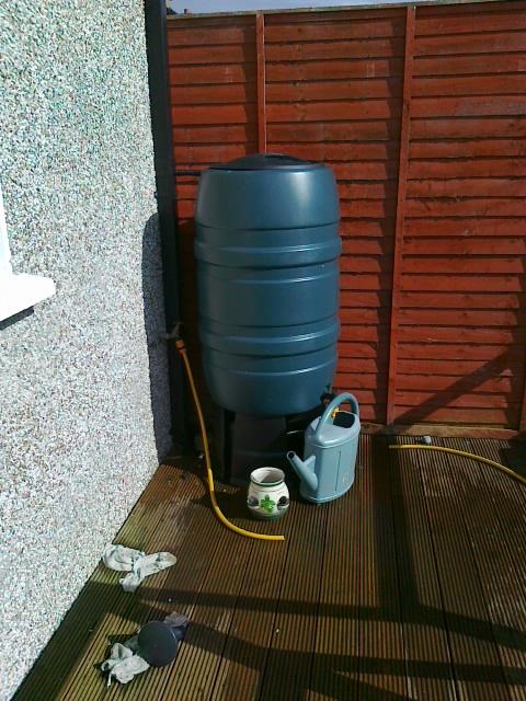 Water Harvester Installation