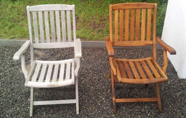 Restoring Garden Furniture