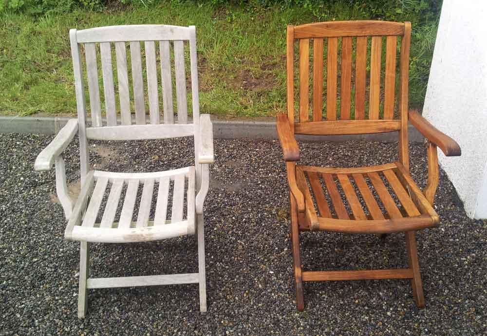 - Restoring Garden Furniture