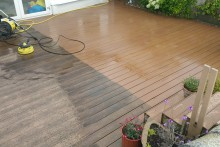Composite decking restoration